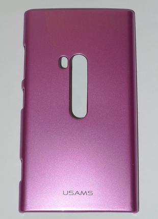Чехол Usams для Nokia 920 Lumia pink 0398
