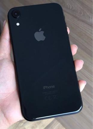 Apple iPhone xR 128gb black айфон xR 128gb черный