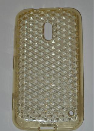 Чехол NN для Nokia 620 Lumia прозрачный 0402