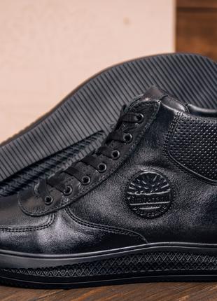 Мужские зимние замшевые ботинки в Timberland