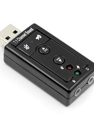 Внешняя USB Звуковая Карта USB Audio