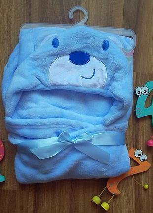 Дитячий плєд одіялко ведмедик