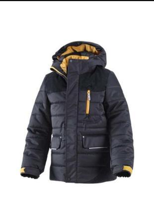 Зимняя парка-пальто reima 140cm, 152