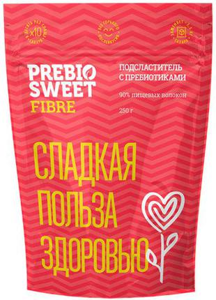Заменитель сахара Prebiosweet Fibre / Пребиосвит Файбер, 250 г.