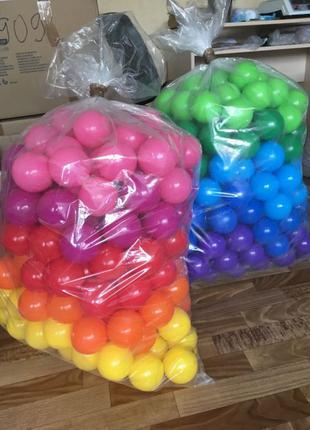 """Шарики детские для сухого бассейна """"Mega Ball"""" 8 см"""
