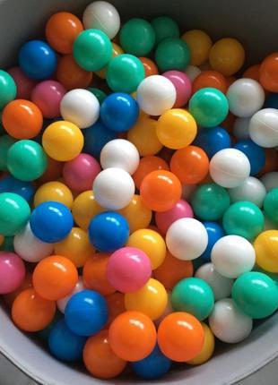 Шарики для сухого бассейна - Mega Ball, 200 шт