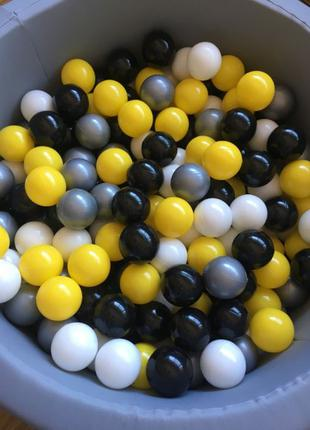 Шарики, мячики для сухого бассейна детские 8 см