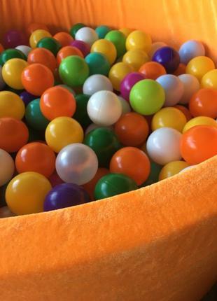 Сухой бассейн с шариками 110х40 см