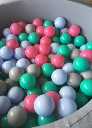 Сухой бассейн с шариками детский