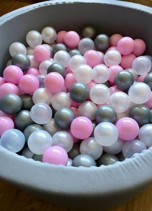 Сухой бассейн с шариками для детей