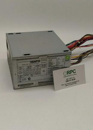 Блок питания 500W Vento ATX-500H/ video 6pin/Cpu 4pin 120FAN