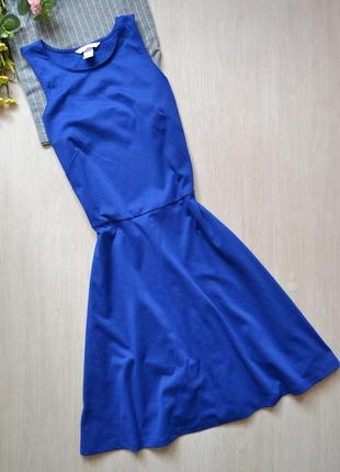 Приталенное платье сарафан h&m