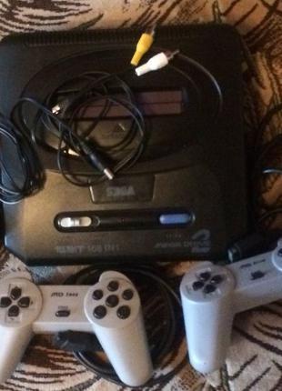 Продам Sega Mega Drive 2 16 битная игровая приставка