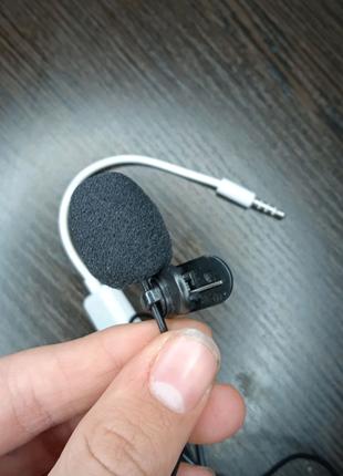 Микрофон петличный+ в подарок переходник