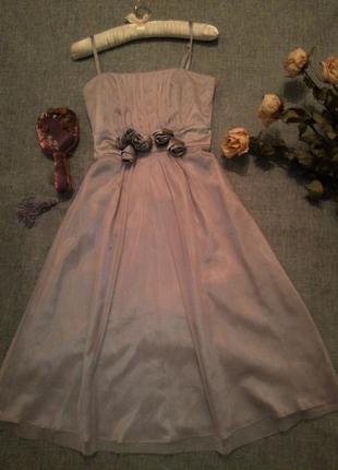 Супер платье с розами