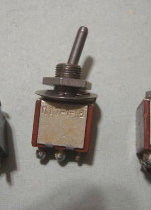 Микро тумблер  П1Т1   П2Т1