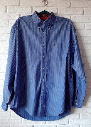 Фирменная рубашка tommy hilfiger (original).