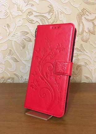 Чехол, чехол-книжка, чехол-портмоне ZTE Blade 20 smart кожаный