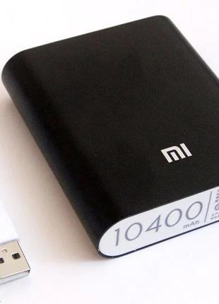 Power Bank Xiaomi Mi 10400 MAh Павербанк Реальные 7800 MAh