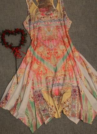 Платье разлетайка с камнями