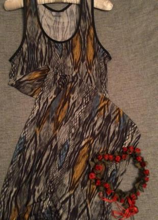 Прямое платье сарафан