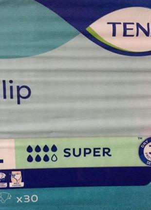 Памперсы Тена Супер для взрослых ночные