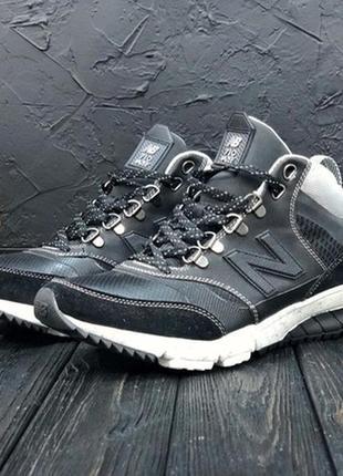 Мужские чёрные демисезонные кроссовки нью беленс new balance 7...