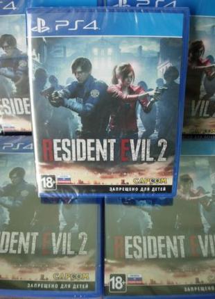 Resident Evil 2 РS4. Диск Новый, русский регион