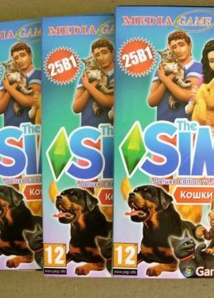 Симс 4 (Sims4) Delux Edition на 4 DVD дисках. Новые. Полная ве...