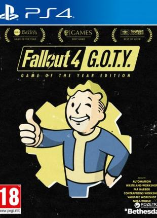 Fallout 4 Game of the Year Edition Ps4. Запечатанный Диск, нов...