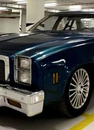 387 Ретро авто Chevrolet Malibu Classic blue