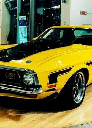 344 Ретро авто Ford Mustang Cobra Jet 1971 прокат