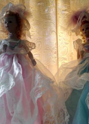 Кукла светильник из фарфора 2 шт., ночник, лампа, осветительны...