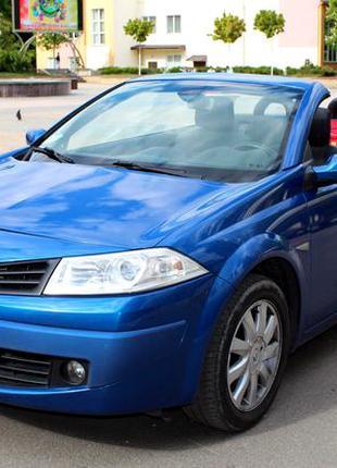 227 Кабриолет Renault Megane синий