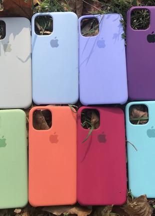 Apple Silicone Case іPhone Силиконовый - 6s/6+/7/7+/8/8+/X/XR/11