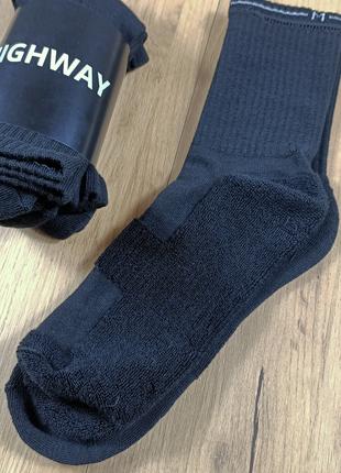Шкарпетки з махровою стопою highway носки с махрою по стопе зи...