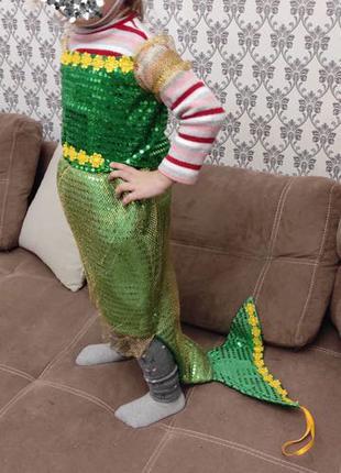 Детский карнавальный новогодний костюм «Русалочка»