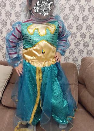 Детский карнавальный новогодний костюм «Русалочка».