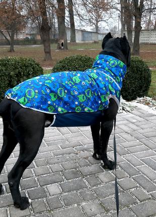 Новый утепленый жилет для больших собак, куртка, одежда для собак