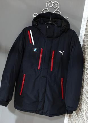 Мужская зимняя куртка пальто puma