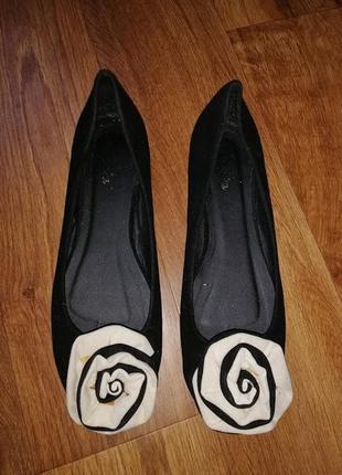 🌺🎀🌺стильные женские туфли, балетки 41 р.🔥🔥🔥