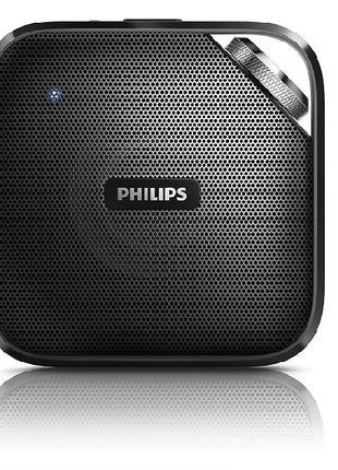 Колонка Динамик Портативный беспроводной Bluetooth Philips BT2...