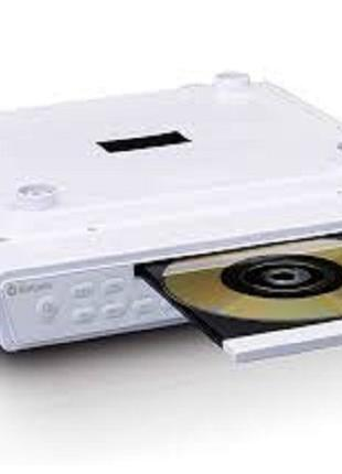Радио Кухонное радио и CD-проигрыватель Lenco KCR-150, белый цвет