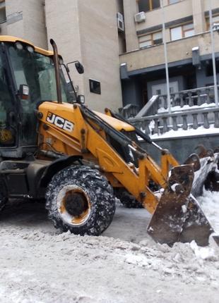 Уборка вывоз снега Киев