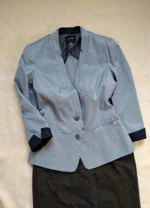 Фактурный легкий пиджак жакет блейзер с рукавом 3/4 orsay