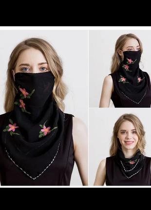 Маска шарф платок на шею
