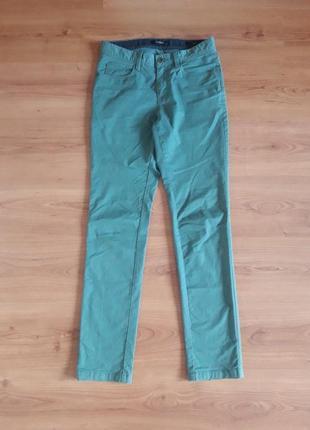 Брюки хлопок джинсовый крой slim fit w28 l33