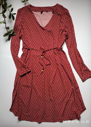 Эластичное платье с поясом tcm tchibo