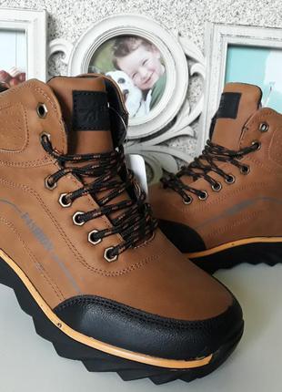 Зимние ботинки на мальчика 34,35,38 размеры