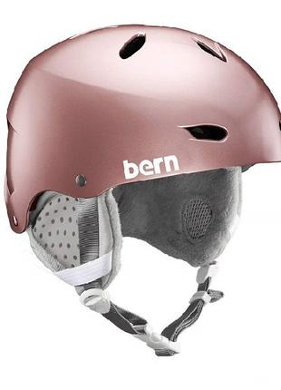 Шлем Шлом BERN Лыжный - Женский лижний шлем Brighton EPS
